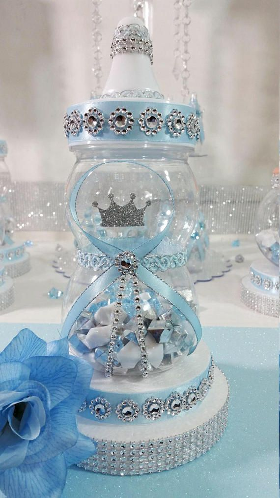 Baby Shower Centerpiece For Prince Baby Shower/Boys Royal Baby