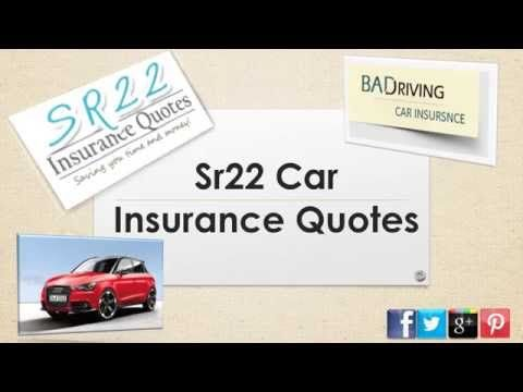 Sr22 Insurance Quotes Awesome How Can I Get Car Insurance Quotes For Sr22  Watch Video Here . Inspiration