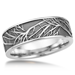 This Is The Matching Men S Wedding Band To The Tree Of Life