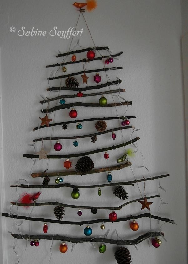 mal ein anderer weihnachtsbaum crafts pinterest. Black Bedroom Furniture Sets. Home Design Ideas