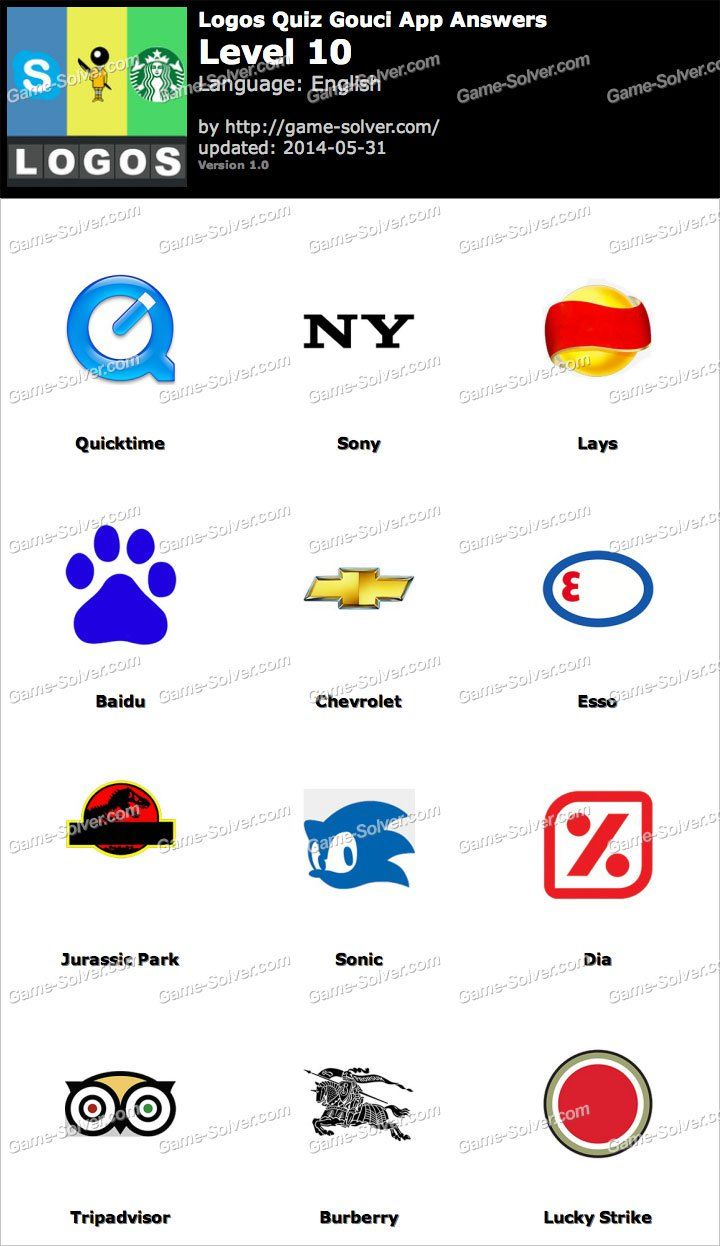 logo quiz solution niveau 10