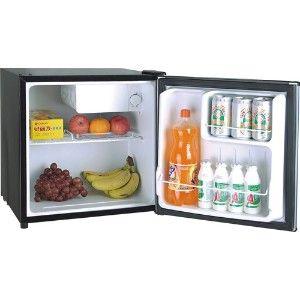 Igloo Mini Fridge Compact Refrigerator Stainless Steel Doors Compact Freezer