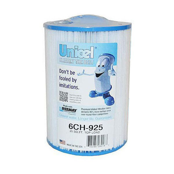 Unicel 6ch 925 Hot Tub Filter For Gulf Coast Spas Pww25p3