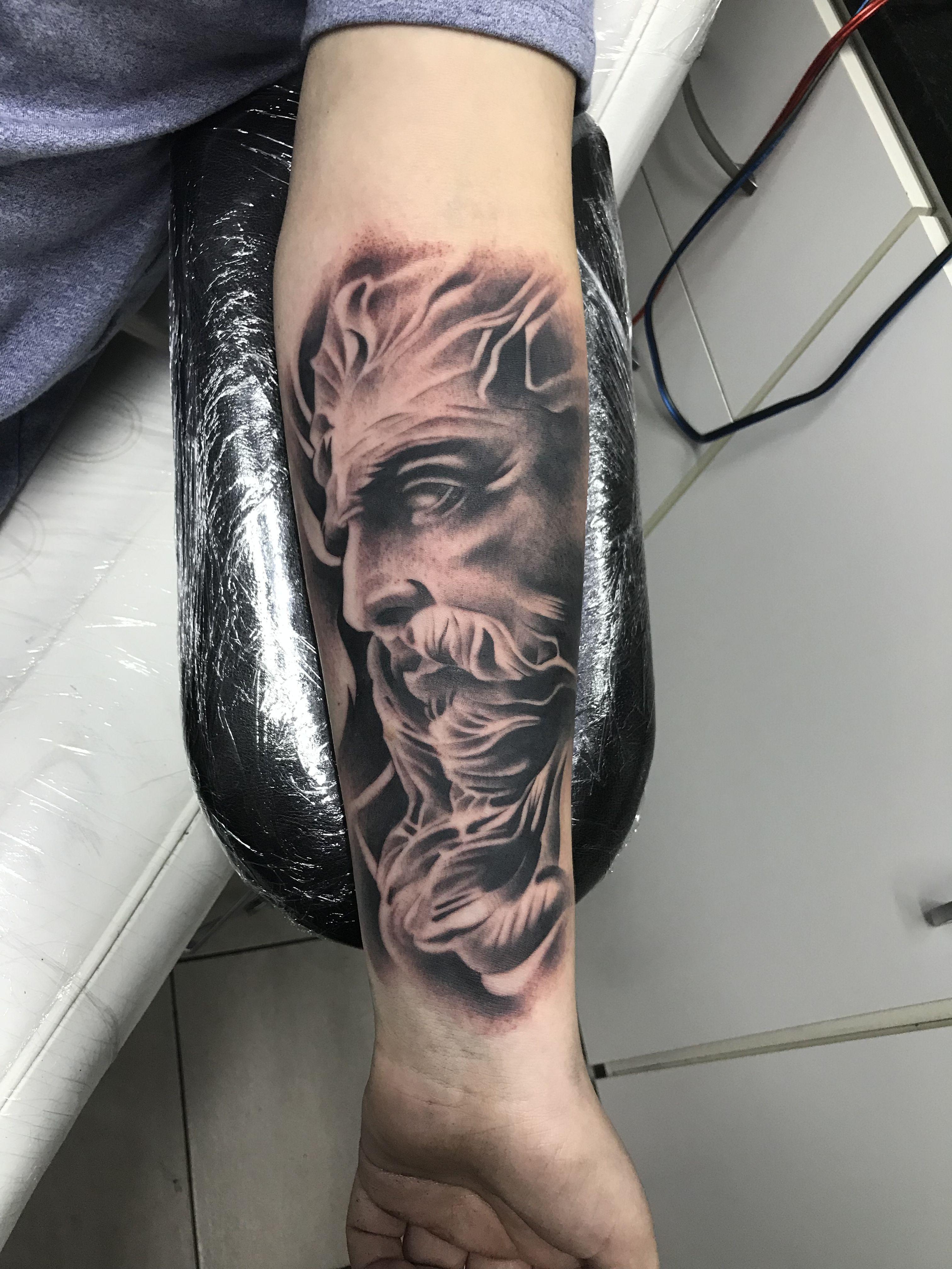 Zeus Tatuajes Tatto Dibujos Dioses Tatuajes Tatuajes De