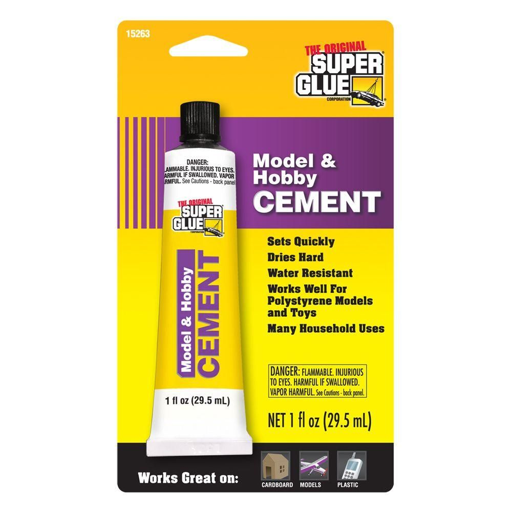Super Glue 1 Fl Oz Model And Hobby Cement 12 Pack Nel 2020