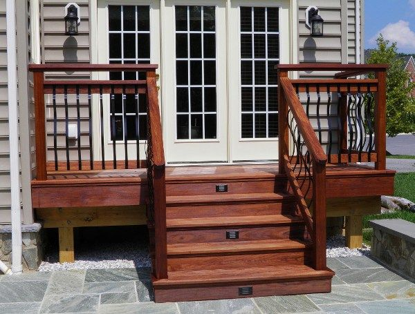 Best Deck Ideas Railing And Lights Patio Stairs Building A 400 x 300