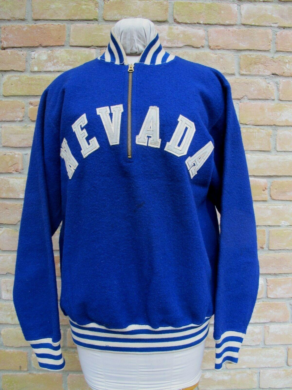 Vintage 50 S Mcgregor Goldsmith Sweatshirt Nevada Reno Wolf Pack Size 40 Good Ebay Sweatshirts Vintage Outfits Clothes