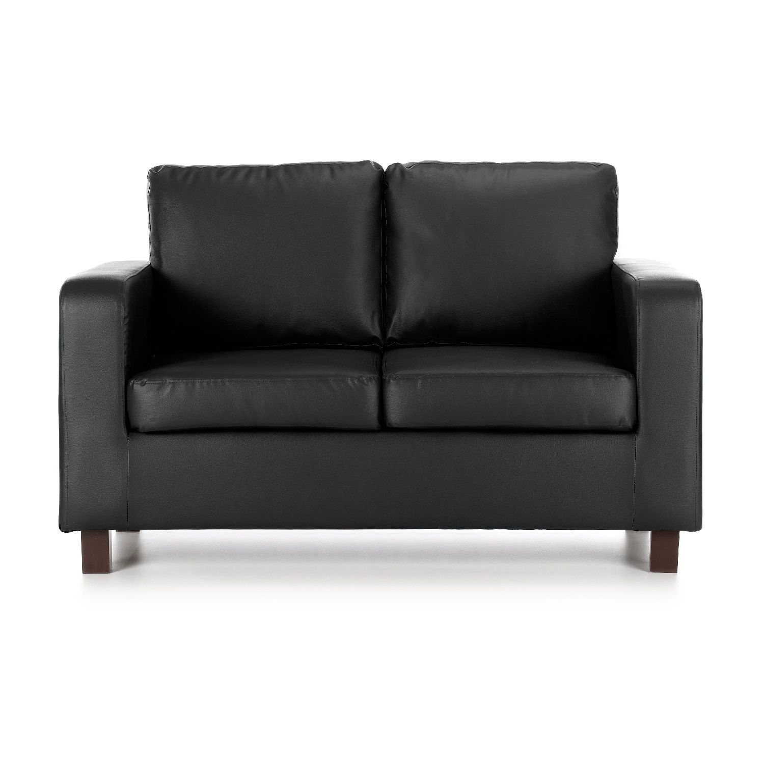 Faux Leather 2 Seater Sofa Bed