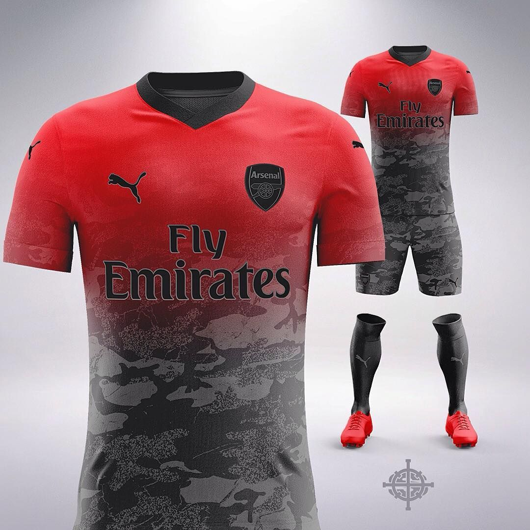871051b3440 Puma x Trapstar Inspired Football Kit Concept for Arsenal by  SETTPACE .  What jersey should I do next