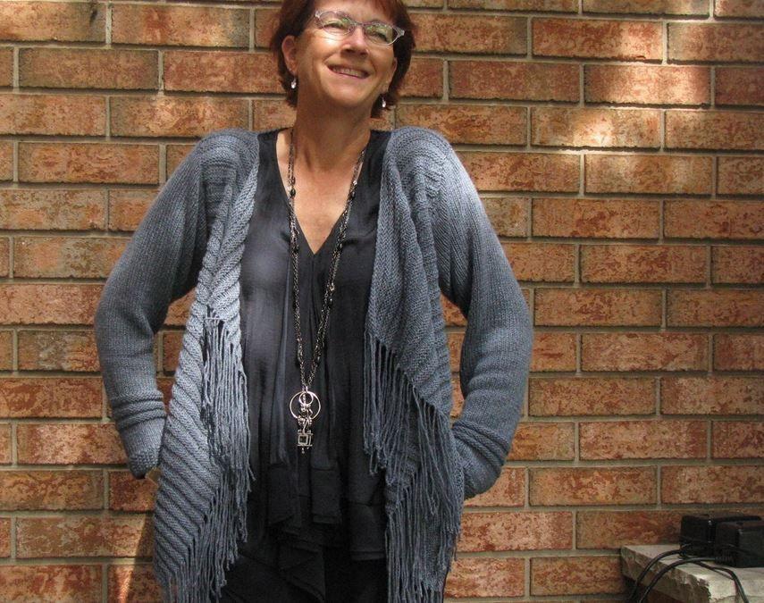 Tassel Fringe Blanket Cardigan | Crochet apparel | Pinterest