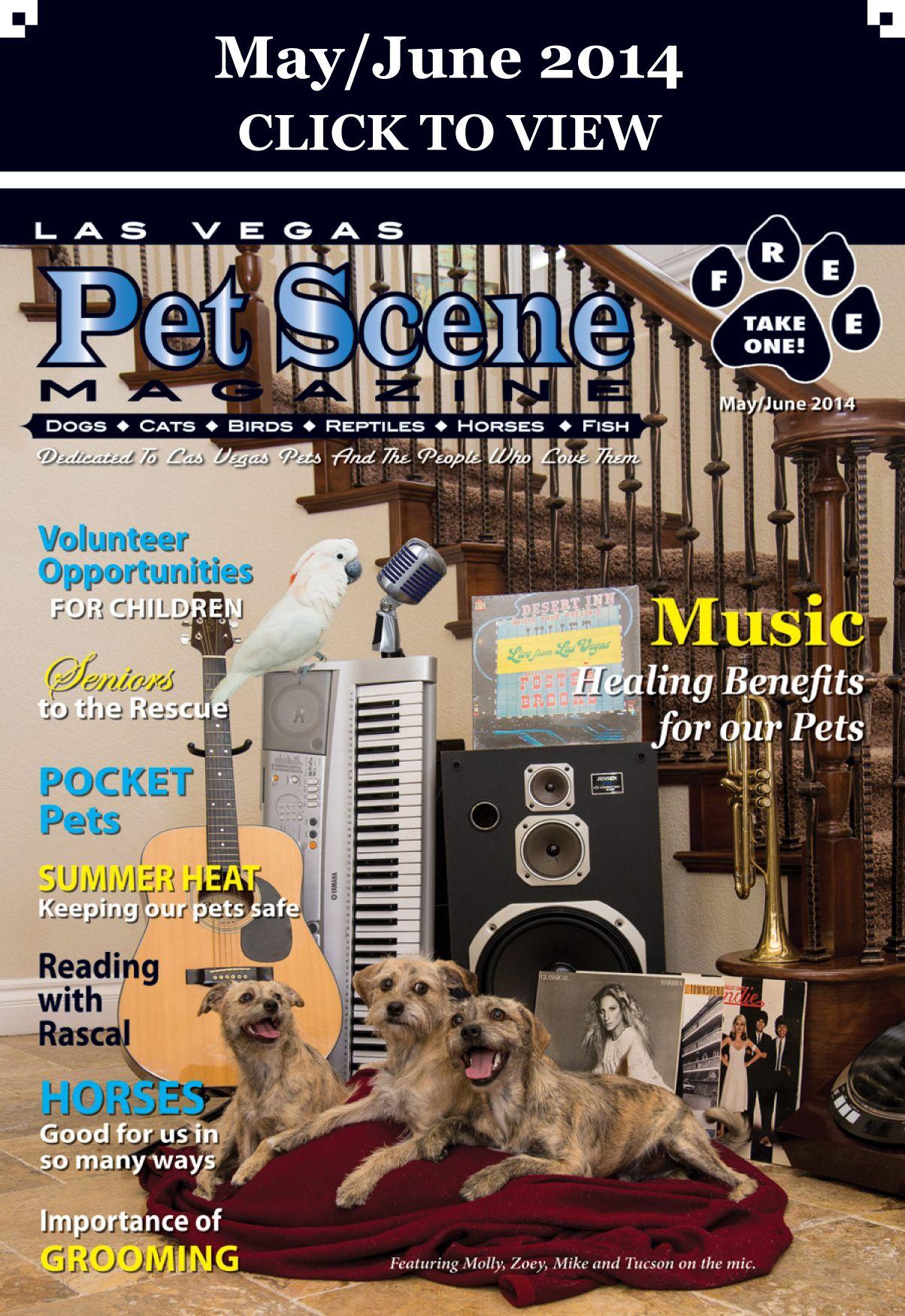Las Vegas Pet Scene Magazine May/June 2014 Pocket pet