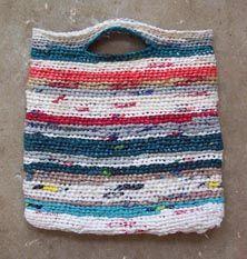 Diy Recycled Tote Bag Reuse Repurpose Upcycle Plastic Bag