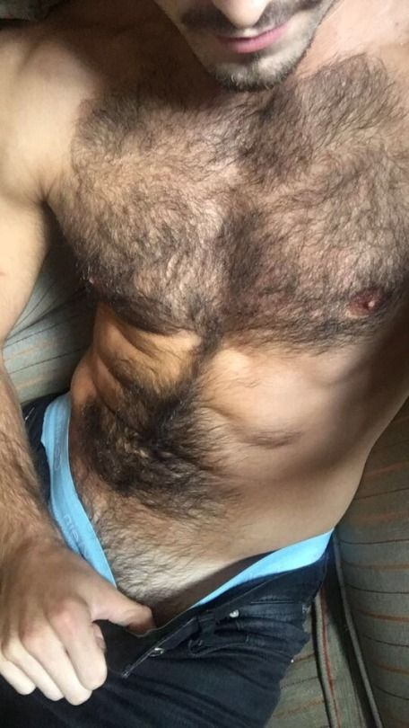 Hairy Teen Close Up