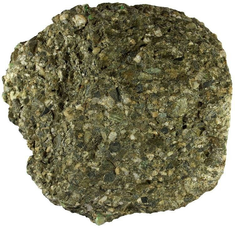 Graywacke Is An Old And Vaguely Defined Rock Name For A Coarse Grained Firmly Indurated Sandstone That Is Dark Color Rock Types Igneous Rock Rocks And Minerals