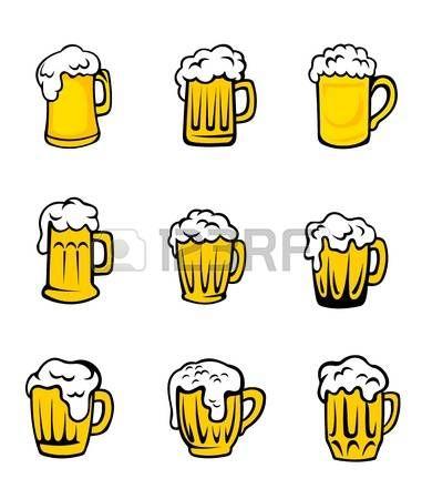 Stock Photo Tatuajes De Cerveza Dibujos De Cerveza Y Logos De