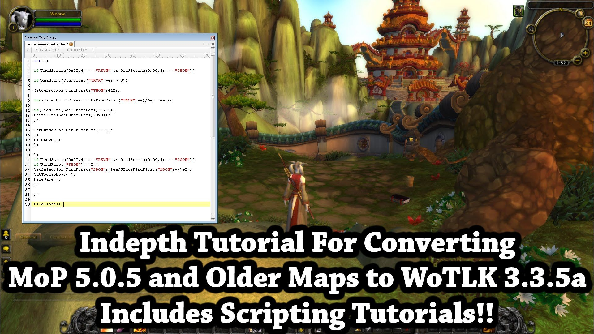 Amazing Wow 3 3 5a How To Convert Mop Maps To Wotlk And Tbc