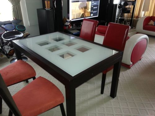Northern Passages Extendable Glass Dining Table Dining Table