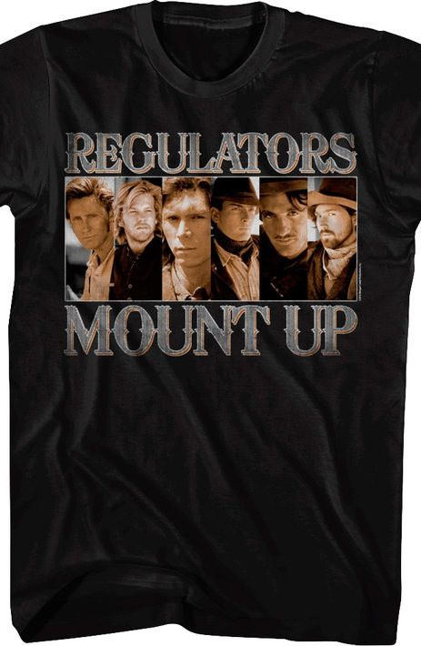Young Guns Regulators TShirt in 2019 Shirts, T shirt