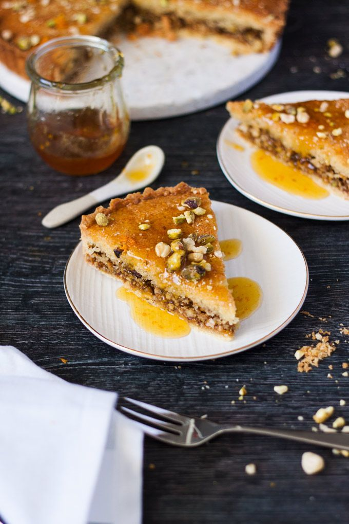 Honey Baklava Tart