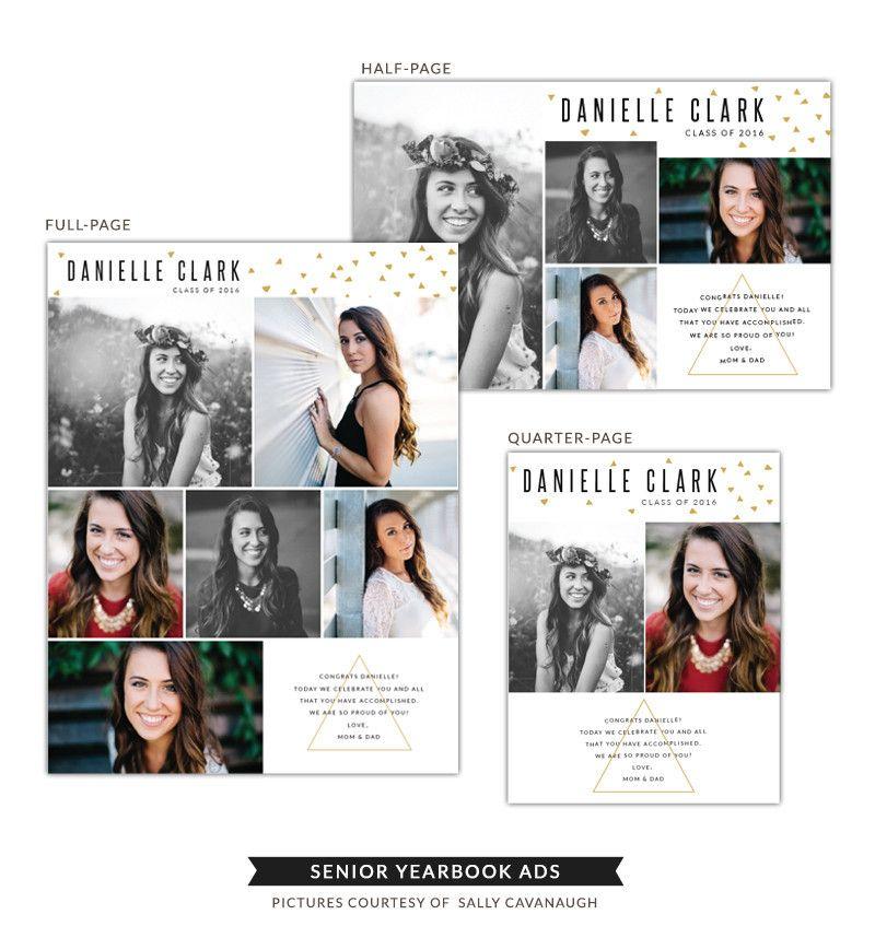 Senior Yearbook Ads Danielle Senior Yearbook Ads Senior Ads Yearbook Ads