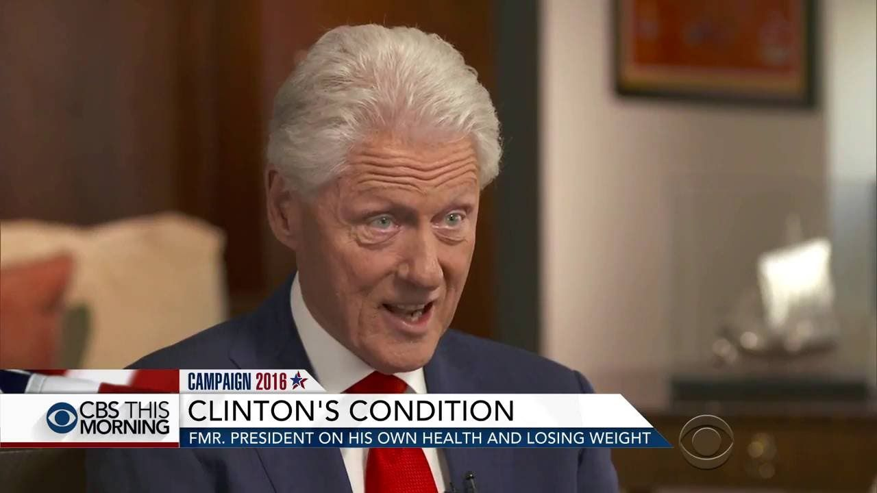 (Unedited) Bill Clinton Slips Up...Tells Truth About Dying Hillary!!!