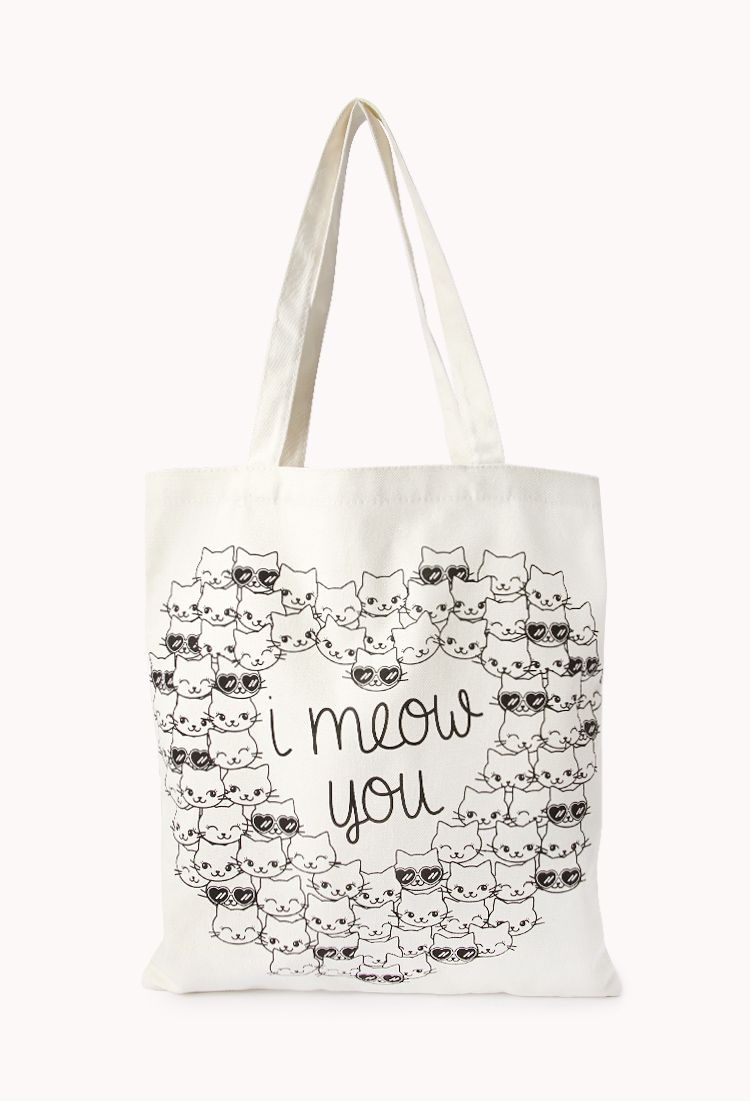 73fdd466d2 Crazy Cats Meow Tote