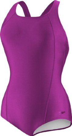 ad7bd89f4a Speedo Women s Plus-Size Princess Seam Conservative Ultraback Swimsuit