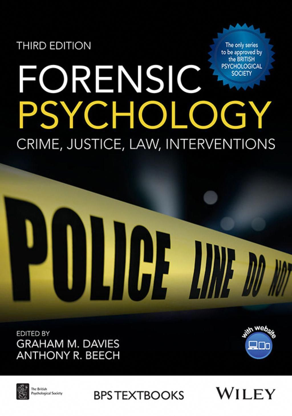 Forensic Psychology Crime Justice Law Interventions