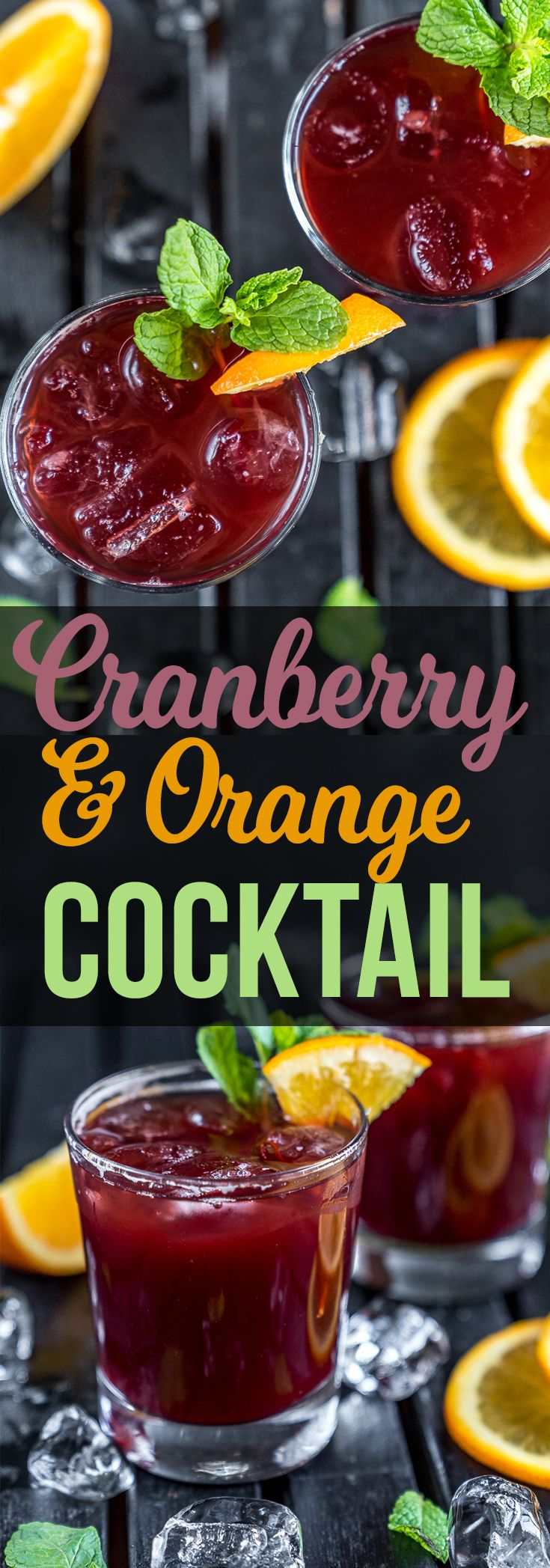 Cranberry & Orange Cocktail | Recipe | Fall recipes, New ...