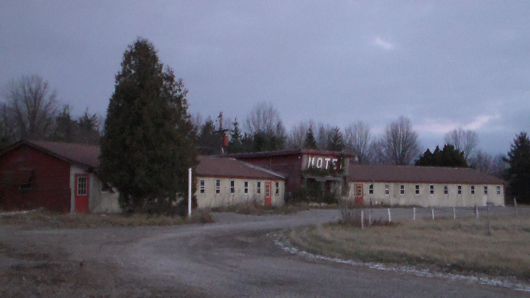 Abandoned Motel Benson Ohio