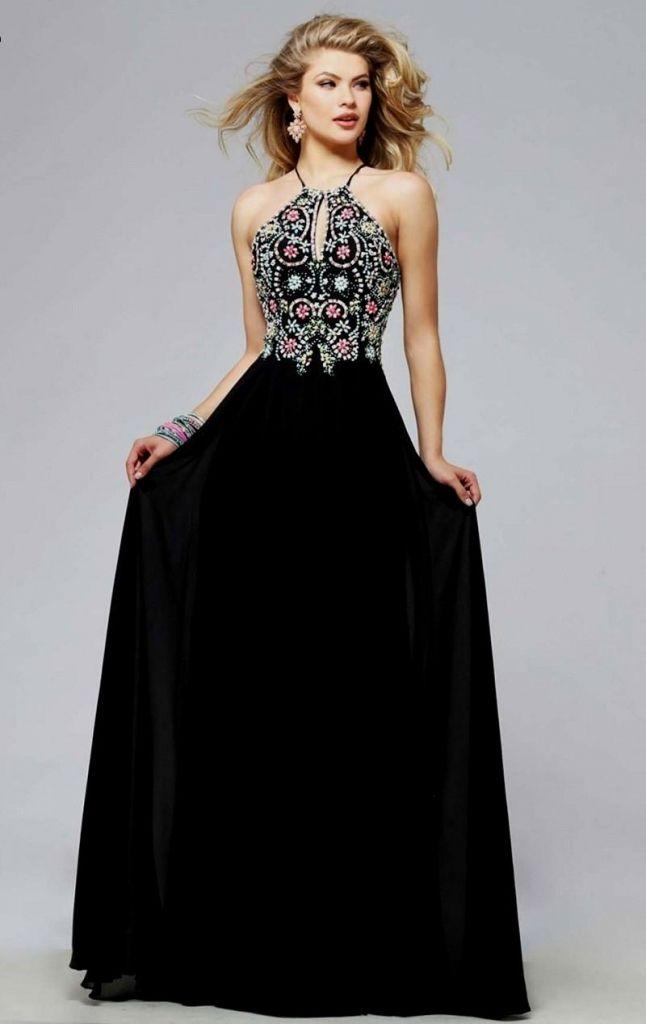 cheap long black prom dresses - vintage style prom dresses Check ...