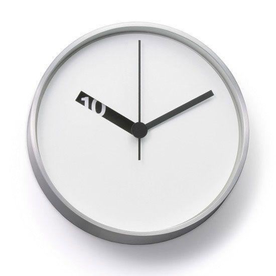 Normal Wanduhr, weiße Stundenscheibe Küche Pinterest - wanduhren für die küche