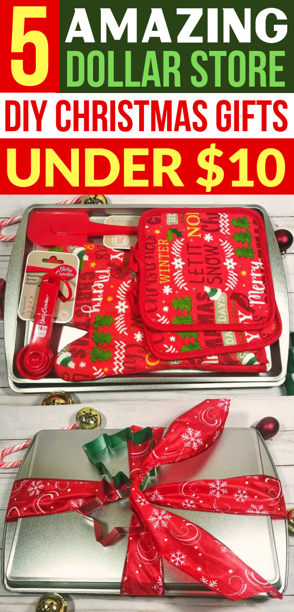 5 Crazy Cheap Christmas Gift Baskets From the Dollar Store Under $10 - Savvy Honey