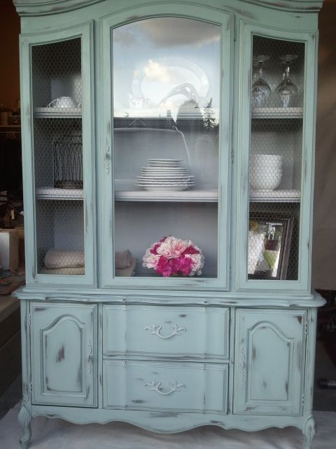 Fairy Cottage and Garden...... My Re-Enchanted Life ~: Hutch Makeover Chalk Paint etc