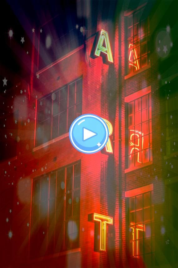 off entire order with discount code CHRISTMAS ART sign red neon lights reflection large windows urban city photography art school art print the word art Photography Red N...