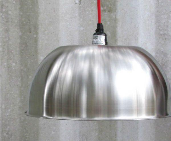 Kitchen Stainless Steel Bowl Light Diy Light Fixtures Diy Lighting Light Fixtures