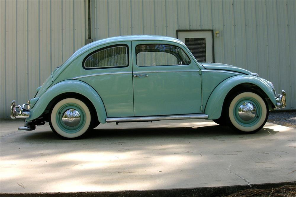 1961 Volkswagen Beetle 2 Door Barrett Jackson Auction Company World S Greatest Collector Car Auc Volkswagen Beetle Volkswagen Beetle Vintage Vw Super Beetle