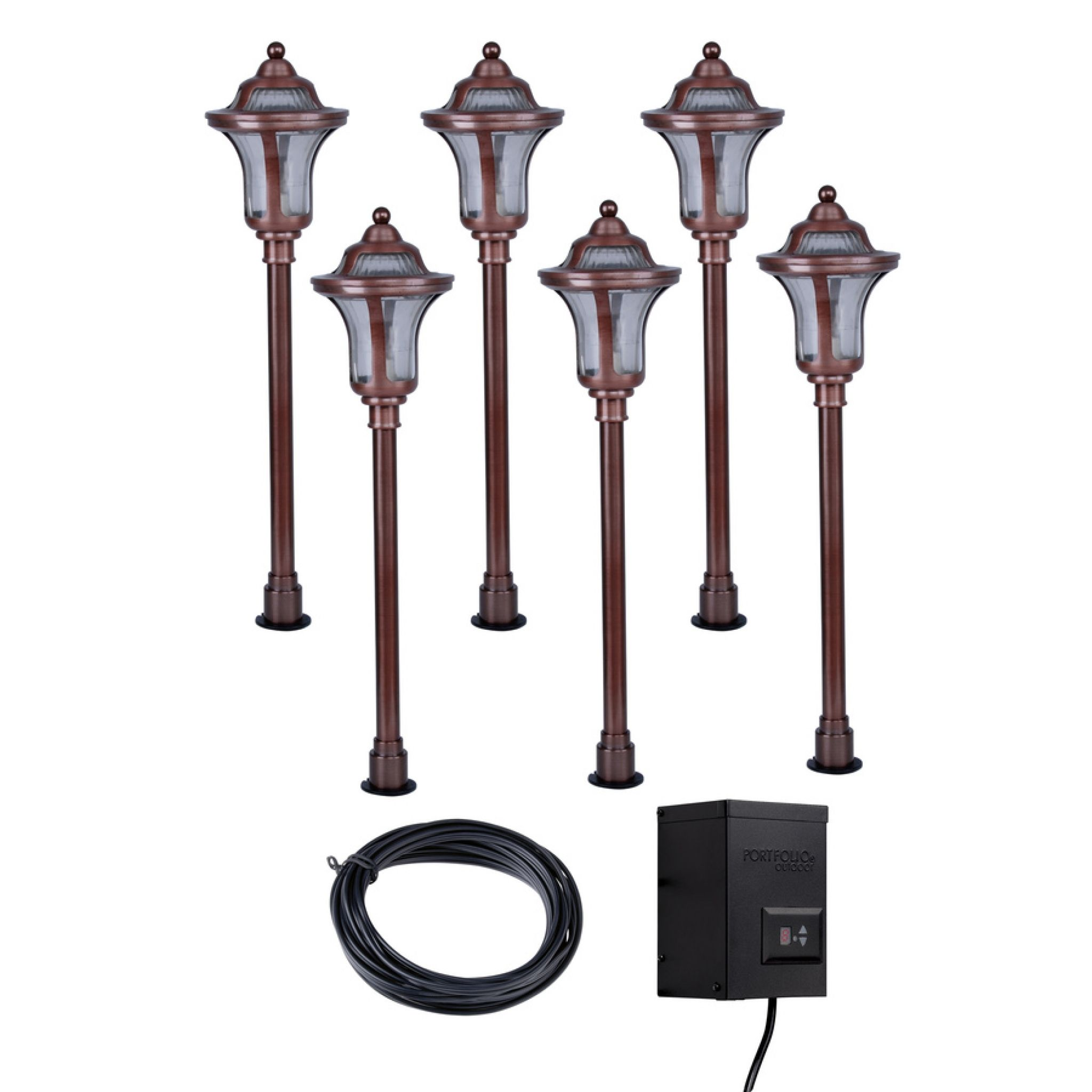 Low voltage led outdoor lighting kits best paint for for Low voltage led patio lights