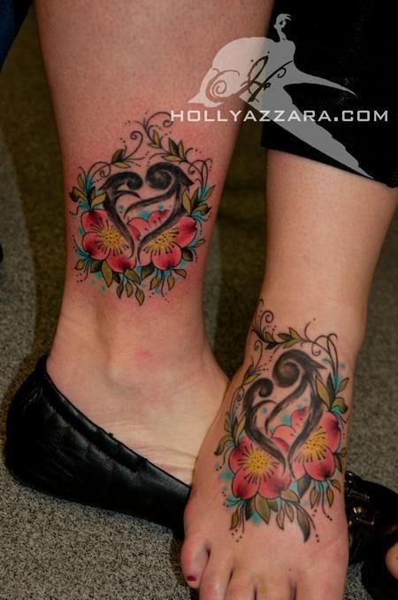 Motherdaughter Symbol Tattoo Tattoos Tattoos Flower Mom