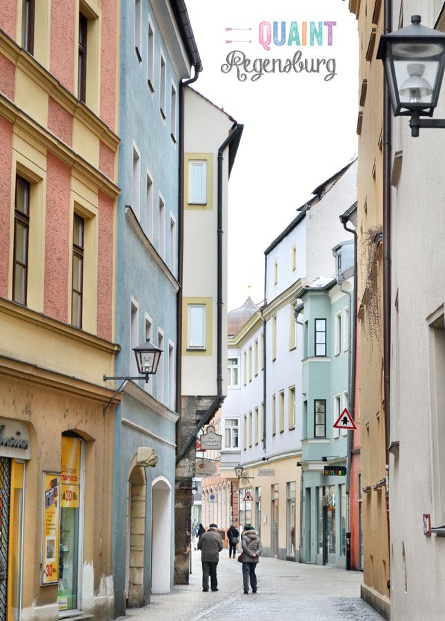 quaint regensburg germany travel deutschland orte reisen. Black Bedroom Furniture Sets. Home Design Ideas