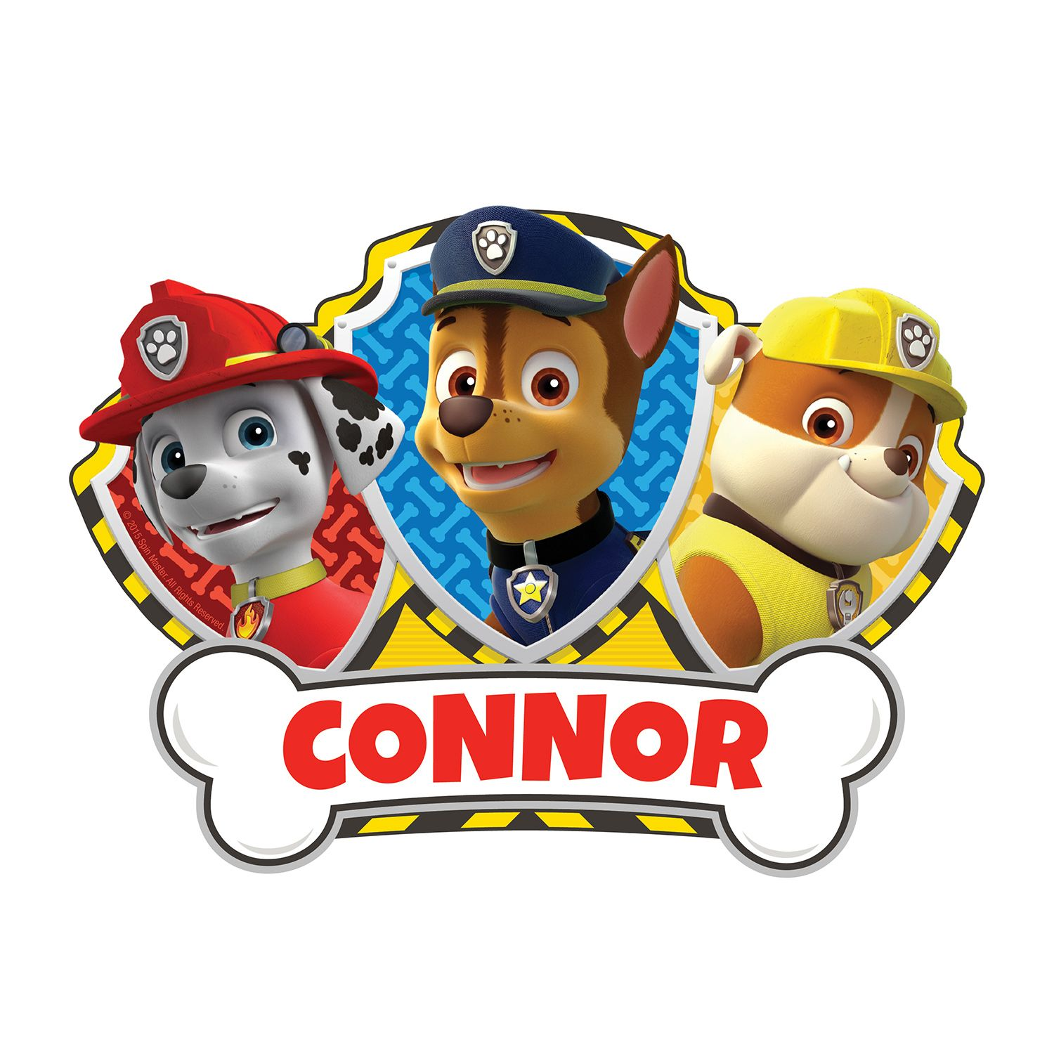 paw patrol chase and pups easy move canvas decal personalized paw patrol chase and pups easy move canvas decal personalized wall decor decor