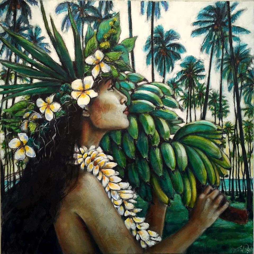 Tania Wursig Polynesian Art Hawaii Art Hawaiian Art