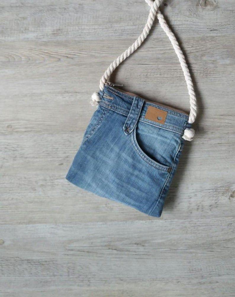Jeans de bolsillo, bandolera