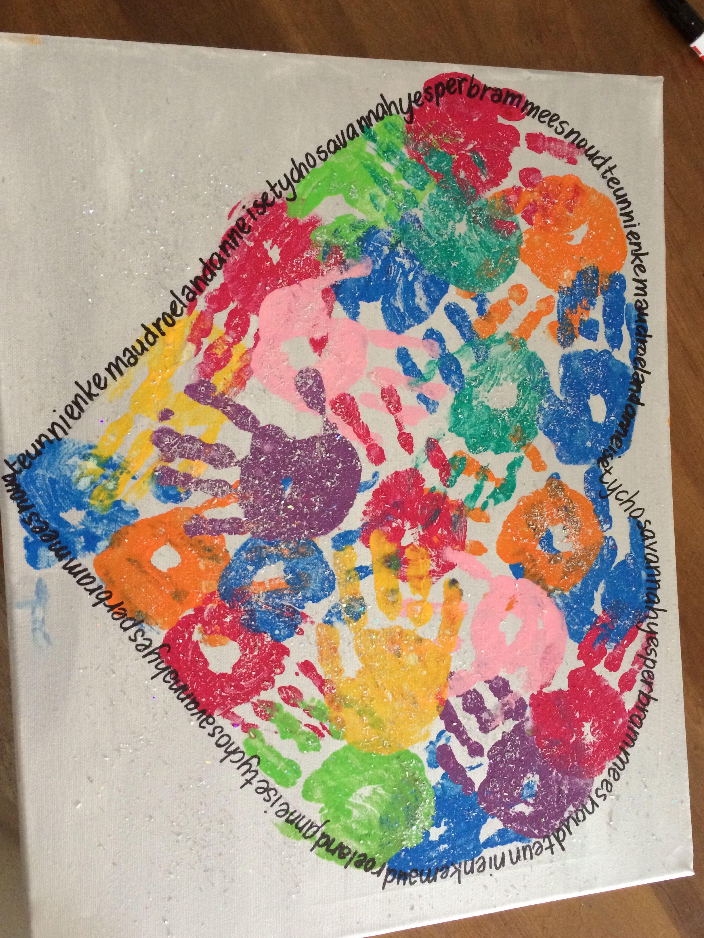 Iets Nieuws Afscheid juffen/ stagiaire hart   diy - Crafts for kids, Diy for @ZC75
