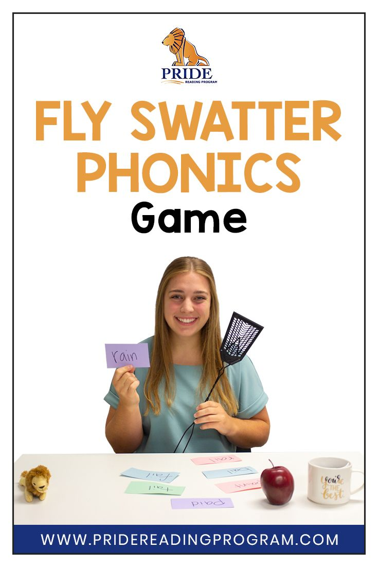 Fly Swatter Phonics Game