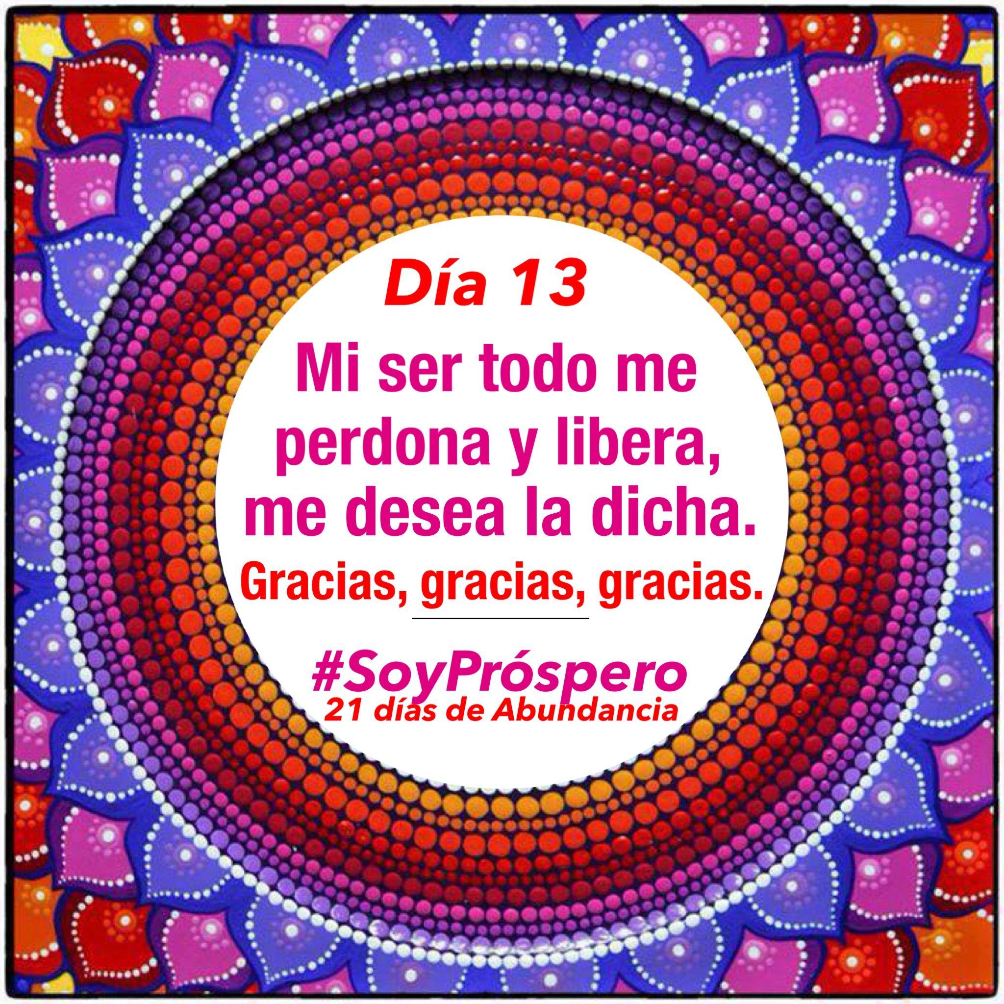 Mandala, Reto, #SoyPróspero, Gracias, Gratitud, Quotes ...