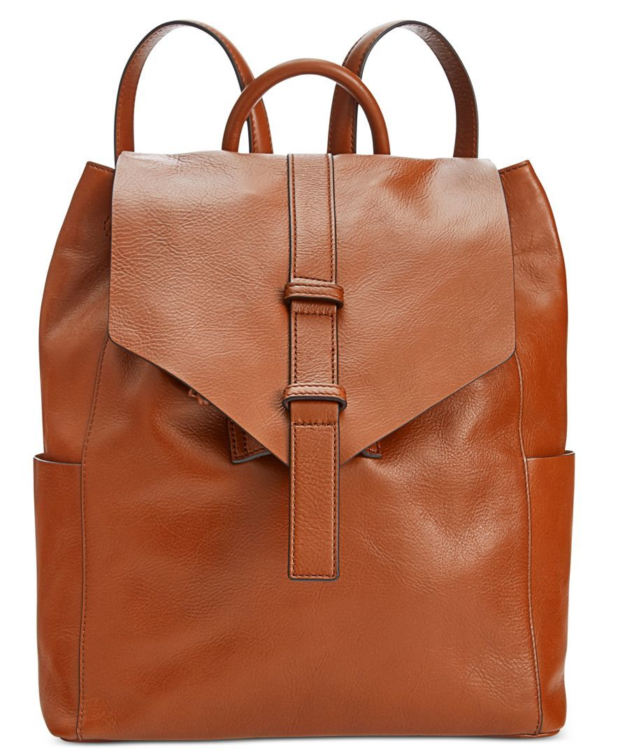 734b48a4c885 Vera Bradley Big Sky Leather Backpack
