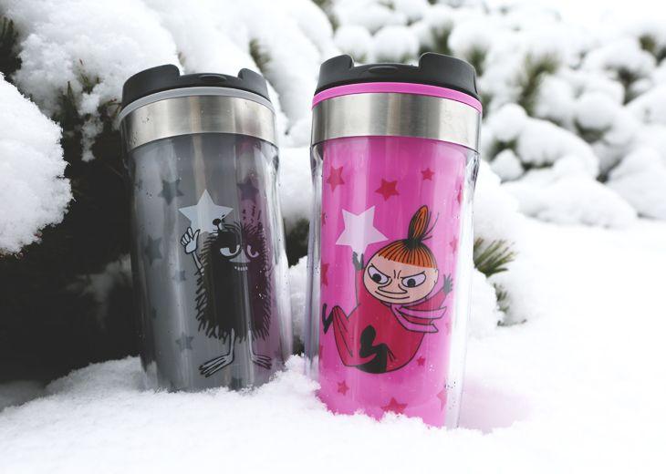 Muumi-termosmukit // Moomin thermos mugs | Products from us | Moomin