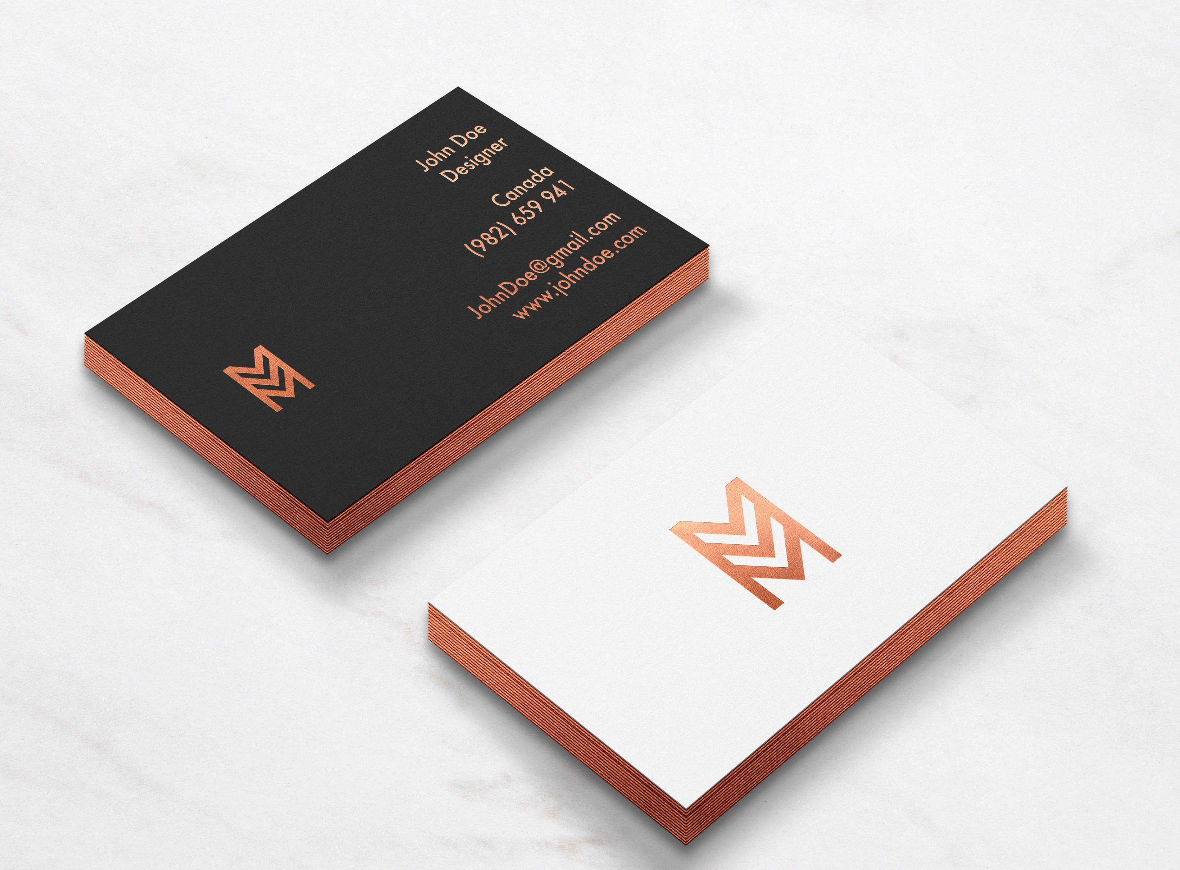 Elegant Business Card mockup Business card mock up