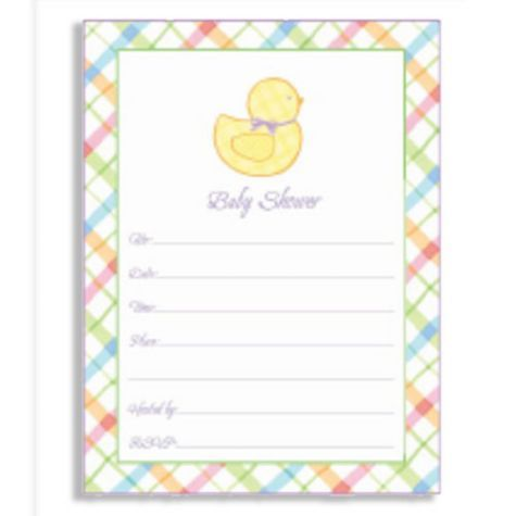 Pastel Baby Shower Invitation Value Pack 20ct Invitations Showers Categories Party City